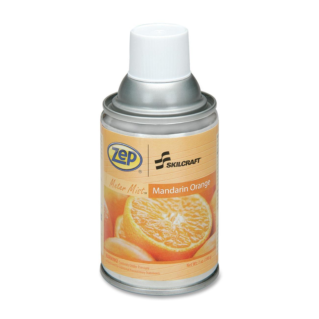 Skilcraft Air Freshener Meter Mist Refill, Mandarin Orange Scent 4598263
