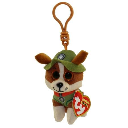 TY Beanie Baby - TRACKER ( Paw Patrol - Plastic Key Clip ) (4 inch)