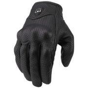 Icon Pursuit Leather Gloves Black