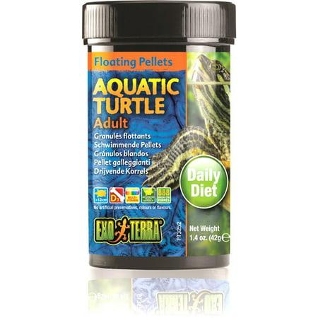 Exo Terra Floating Pellets Aq Turtle Ad 1.4 (Hagen Floating Pellets)