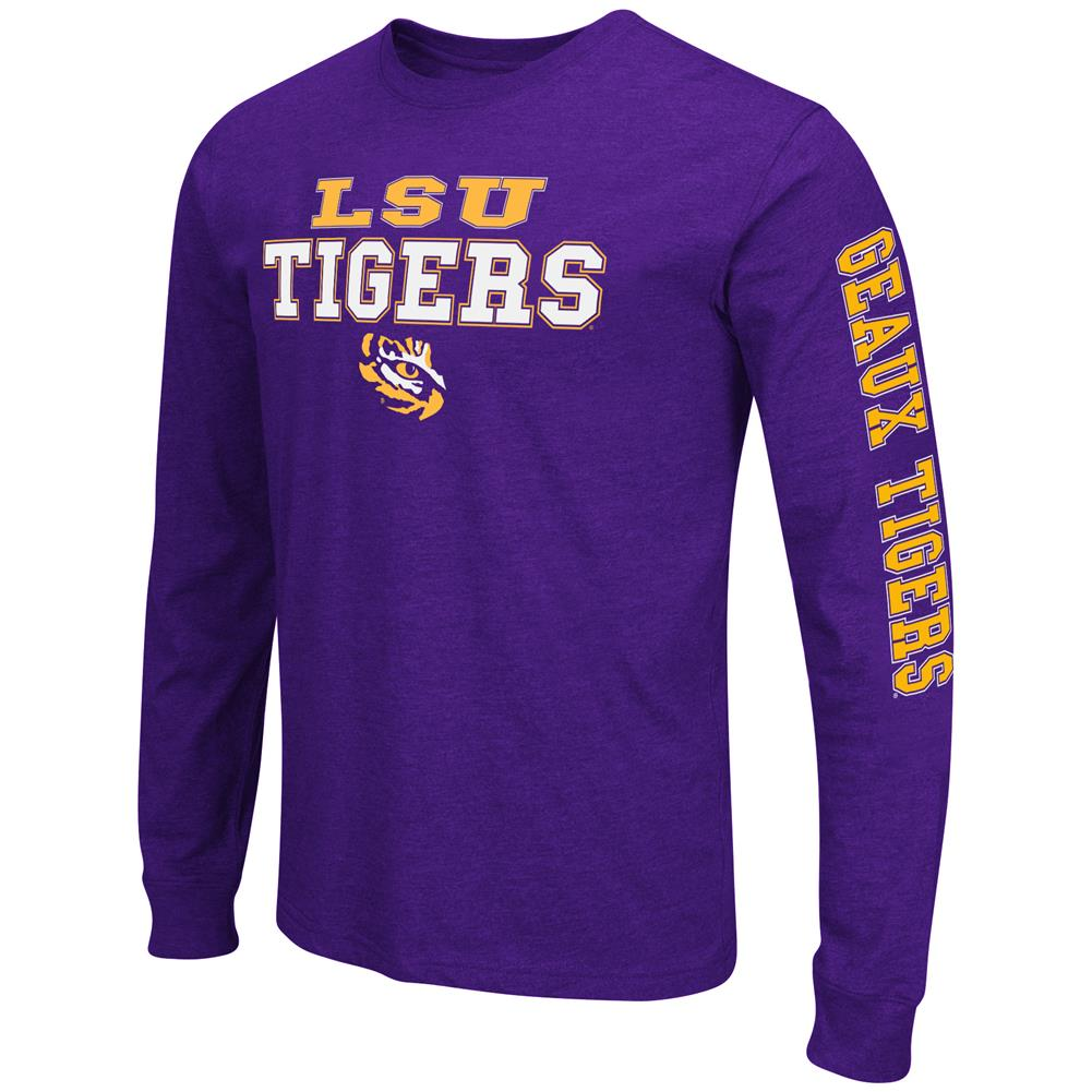 Men's Game Changer LSU Tigers Louisiana State Long Sleeve Tee