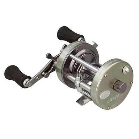 Lews Fishing Laser XL Baitcast Reel, 4.2:1 Gear Ratio, 18.70