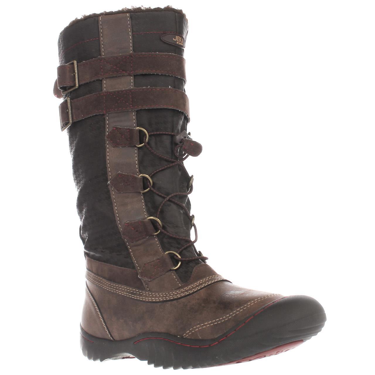 Womens JBU by Jambu Whitney Knee High Snow Boots, Brown