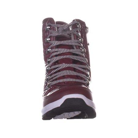 Khombu Elsa Winter Ankle Boots, Zinfandel - image 5 de 6