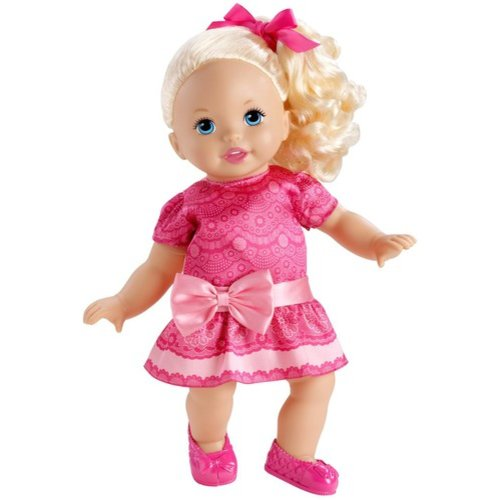 Mattel Little Mommy Sweet as Me Girly Girl Doll