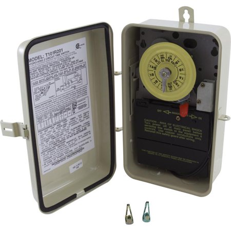 Intermatic T101R201 Time Switch/Metal Enclosure Heat Protect