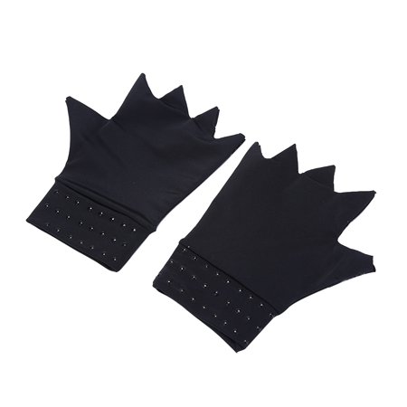 Boyijia Magnetic Arthritis Health Compression Therapy Gloves Women Men Pain Relief Fingerless Gloves - image 2 of 8