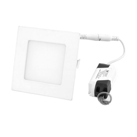 White 4W Square Home Dimmable LED Recessed Ceiling Panel Down Light AC85-265V - image 3 de 3