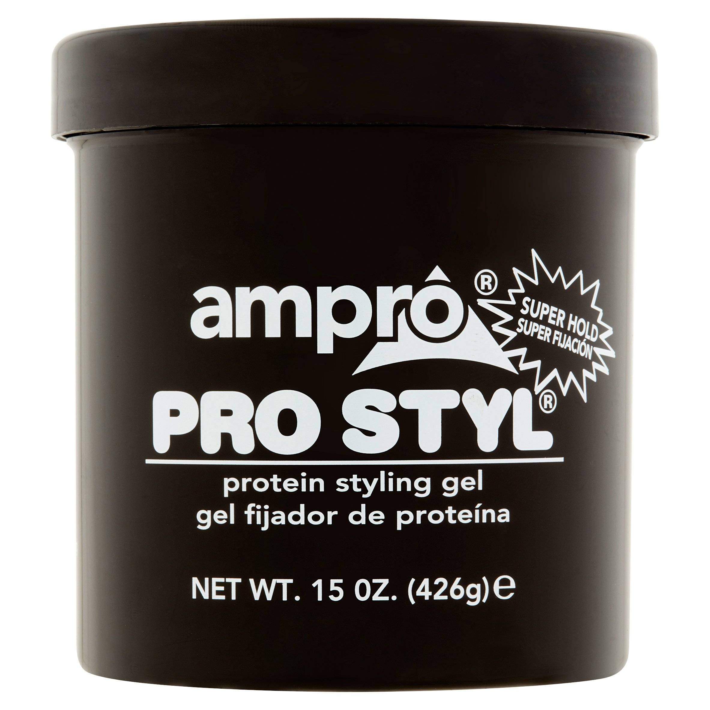 Ampro Pro Styl Super Hold Protein Styling Gel, 15 oz