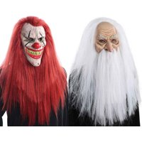Halloween Clown Supr Hair Mask.