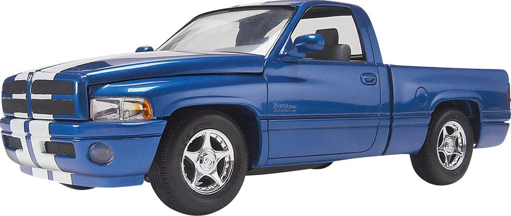 1 25 Dream Rides Dodge Ram VTS Pickup, Highly detailed plastic pieces molded in white;... by