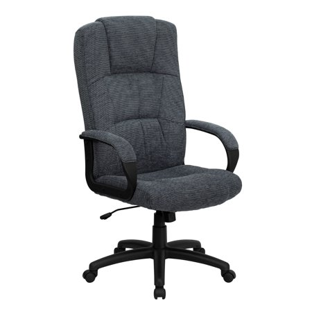 Fabric Executive High Back Office Chair Gray