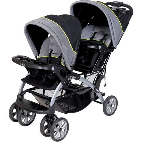 Baby Trend Sit 'N Stand Double Stroller, Pistachio by Baby Trend