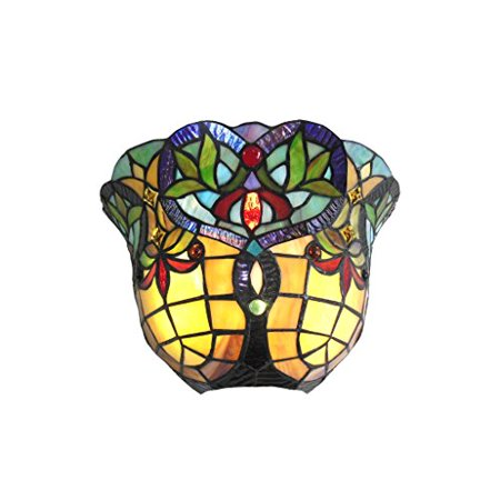 12 Light Wall Sconce (CHLOE Lighting BERTRAM Tiffany-style 1 Light Victorian Indoor Wall Sconce 12