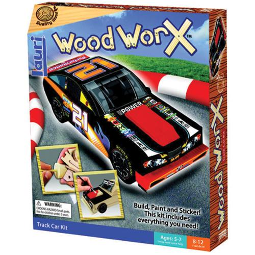 Wood Worx Kit-Track Car