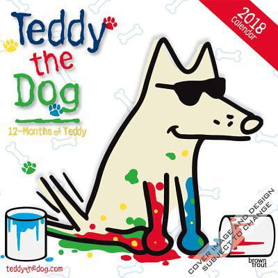 Teddy the Dog 2018 Calendar