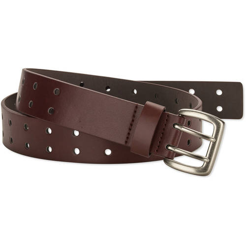 Faded Glory Double Prong Perforated Women's Belt