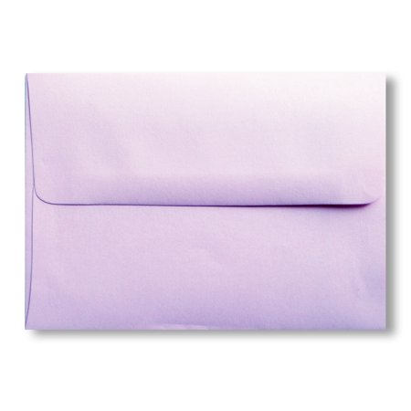 Shipped Free 50 Boxed Light Lavendar 70lb A6 (4-3/4 X 6-1/2) Envelopes for 4-1/2 X 6-1/4 Greeting Cards Invitation Photos Birth Announcement Shower Christening Wedding By Envelopegallery (Card Boxes For Weddings)