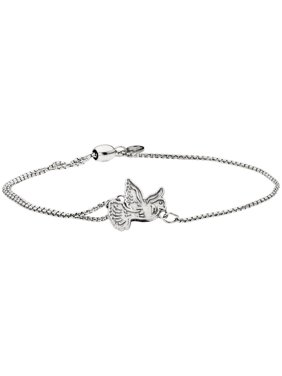 Alex And Ani Dove Pull Chain One Size Bracelet