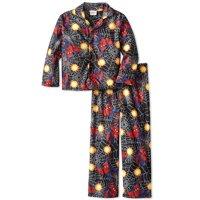 Marvel Spider-Man 2 PC Long Sleeve Coat Pajama Set Boy Size 8