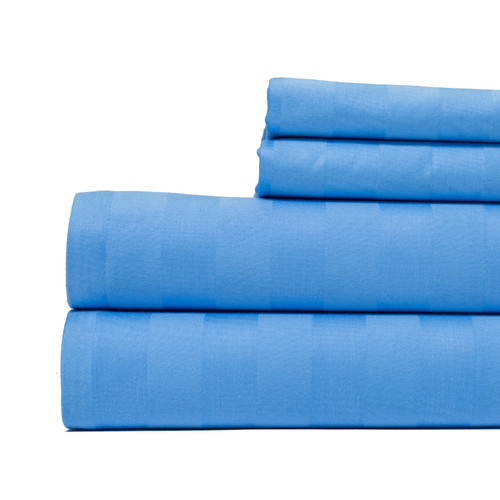 Aspire Linens 4 Piece 500 Thread Count 100pct Cotton Sheet Set