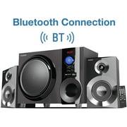Best Compact Stereos - Boytone BT-225FB Wireless Bluetooth Stereo Audio Speaker Bookshelf Review