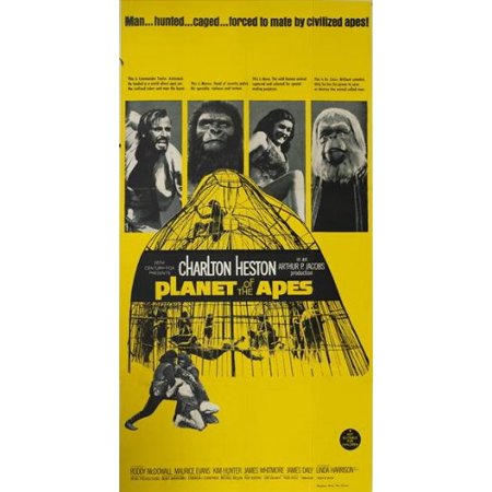 (Planet of the Apes Poster Movie G 11x17 Charlton Heston Roddy McDowall Kim Hunter Maurice Evans, Approx. Size: 11 x 17 Inches - 28cm x 44cm By Pop Culture Graphics,USA)