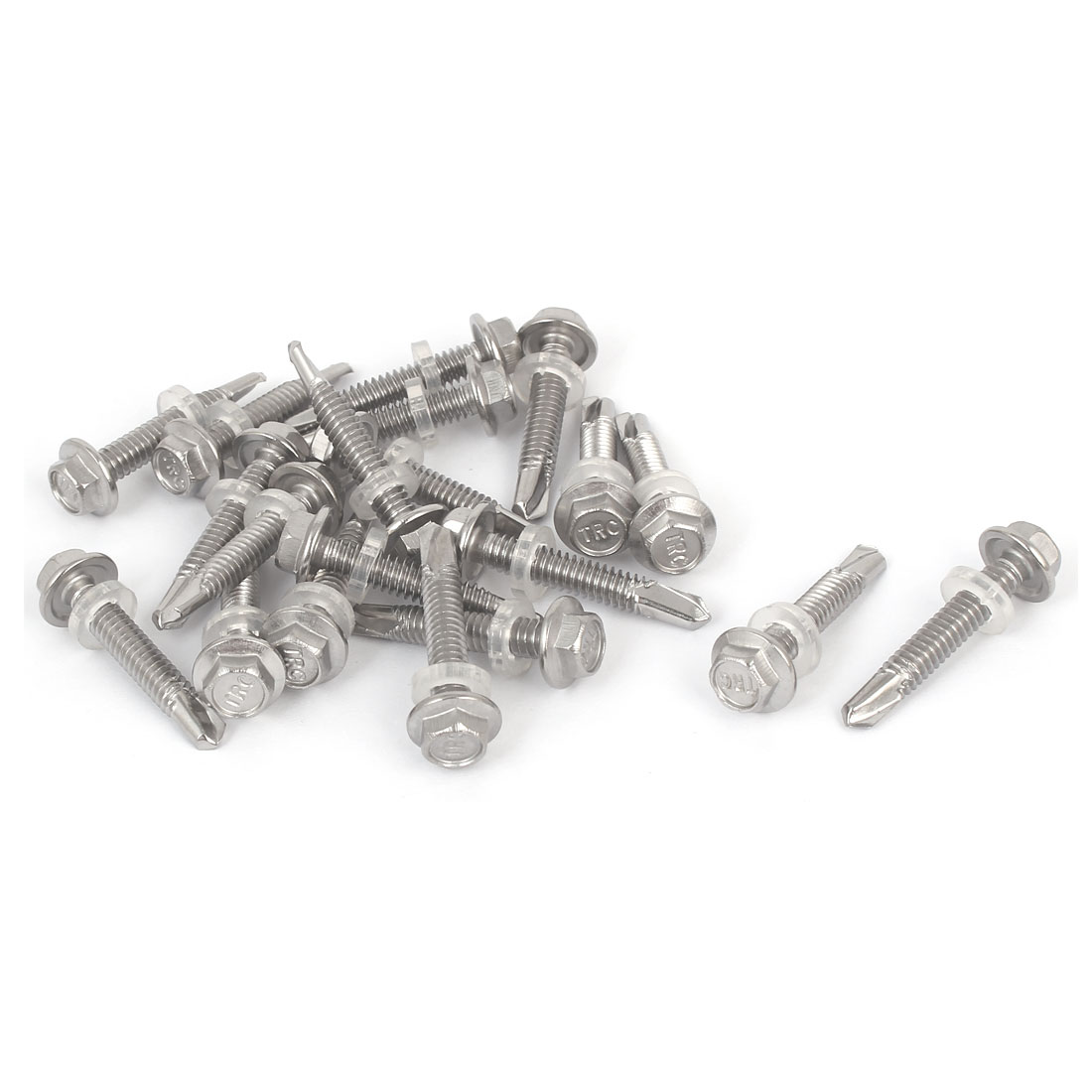410 Stainless Steel Phillips Flat Head Sheet Metal Screws Self-Tapping Screws Wood Srews 100, M3.5X32mm