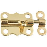 Stanley Hardware 803890 Mini Bolt Solid Brass