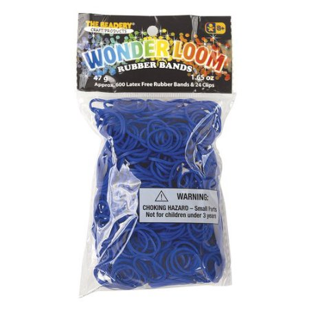 Periwinkle rubber bands for the Wonder Loom from The Beadery