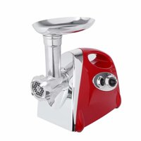 Akoyovwerve 1200w Electric Meat Grinder Sausage Stuffer Maker with Handle Red