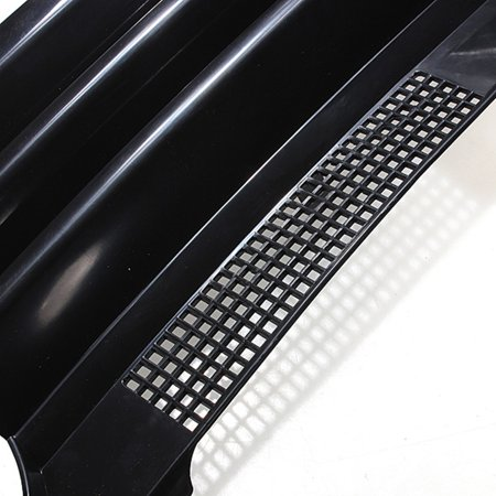 Black Badgeless Debadged Front Sports Grille Grill For AUTO TUNING VW GOLF 4 MK4 97-04 - image 2 de 7