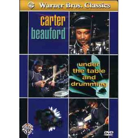 Alfred 00-902971 Carter Beauford- Under the Table and Drumming - Music Book