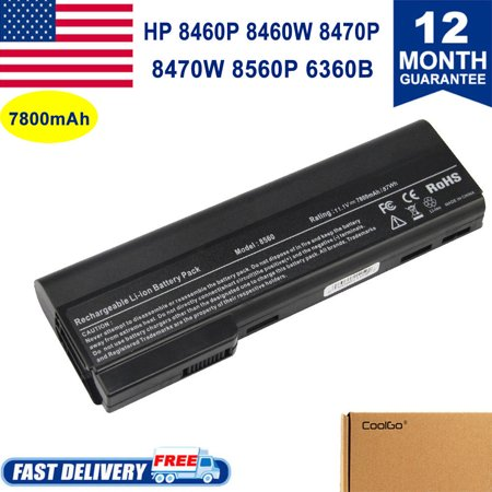 9Cell for HP Elitebook 8460p 8470p Laptop Battery CC06 628670-001  628668-001 CL