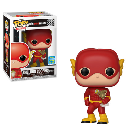Amy Big Bang Theory Halloween (Funko POP TV: Big Bang Theory - Sheldon as Flash (Justice League Halloween) - Summer Convention)