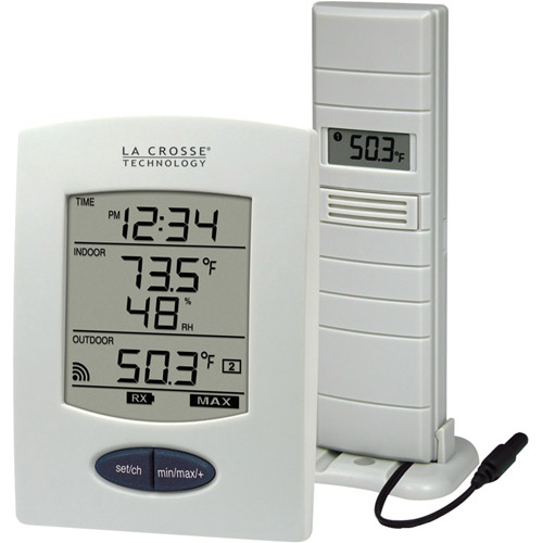 La Crosse Technology Wireless Temperature and Humidity Station