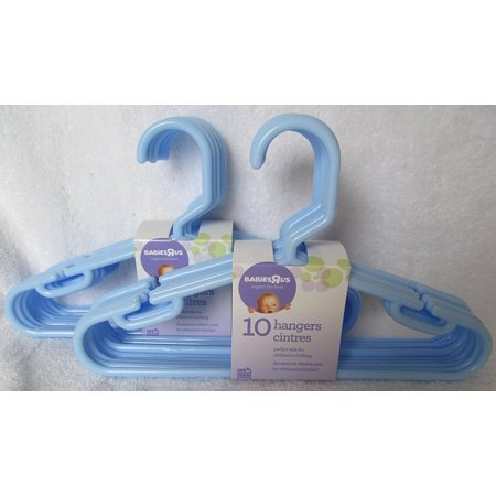 Baby Boy Blue Hangers 10 Hangers  2 Pack   By Babies R Us Ship From Us