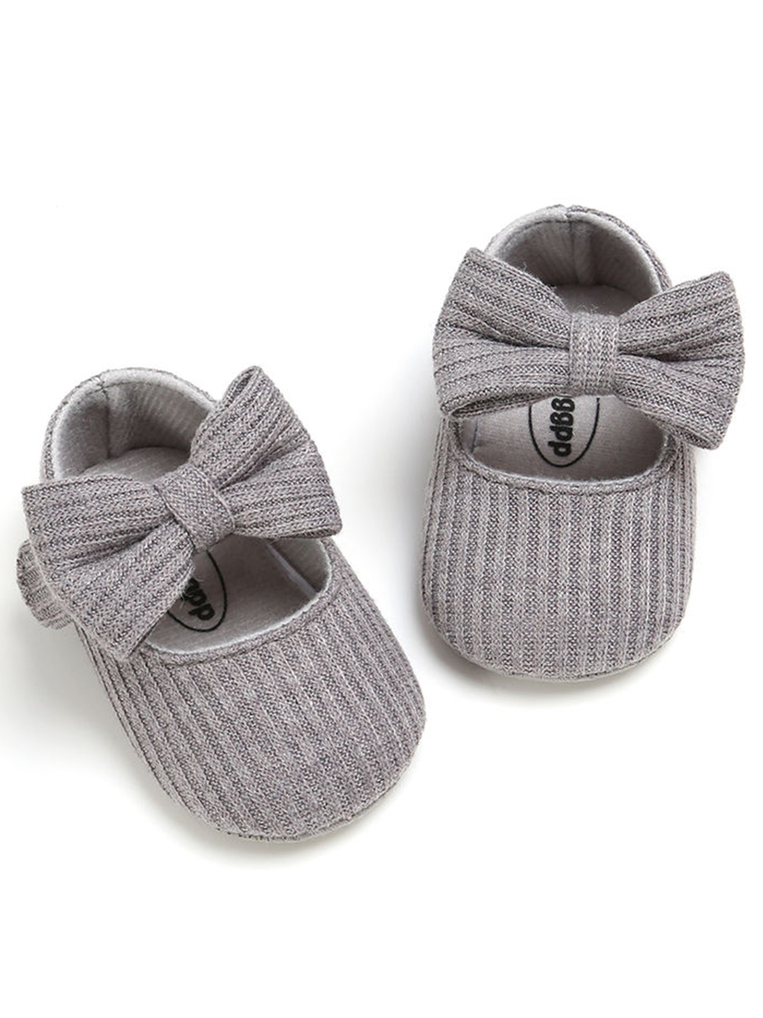 Casual Toddler Kids Baby Girls Princess Bows Stylish Shoes Knitted Soft Sole New
