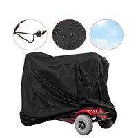 Ejoyous Wheelchair Rain Protection Mobility Scooter Storage Cover Wheelchair Waterproof Rain Protection