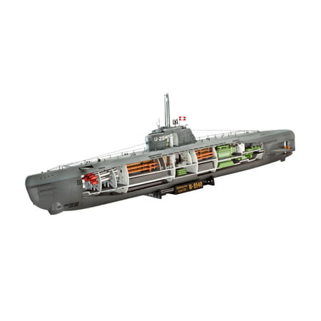 1/144 German U-Boat Type XXI Submarine w/Interior (Type Xxi U Boat Anatomy Of The Ship)