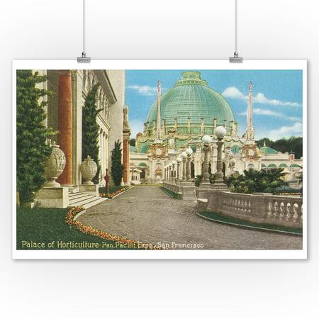 San Francisco, CA - Palace of Horticulture, Panama-Pacific Expo (9x12 Art Print, Wall Decor Travel (Ca Palace)