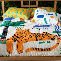 Jungle Tiger Complete Bedding Set by Drew Barrymore Flower Kids, Multiple Sizes