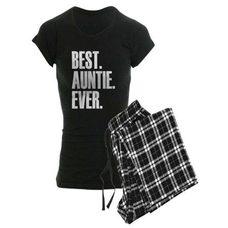 CafePress - Best Auntie Ever Pajamas - Women's Dark