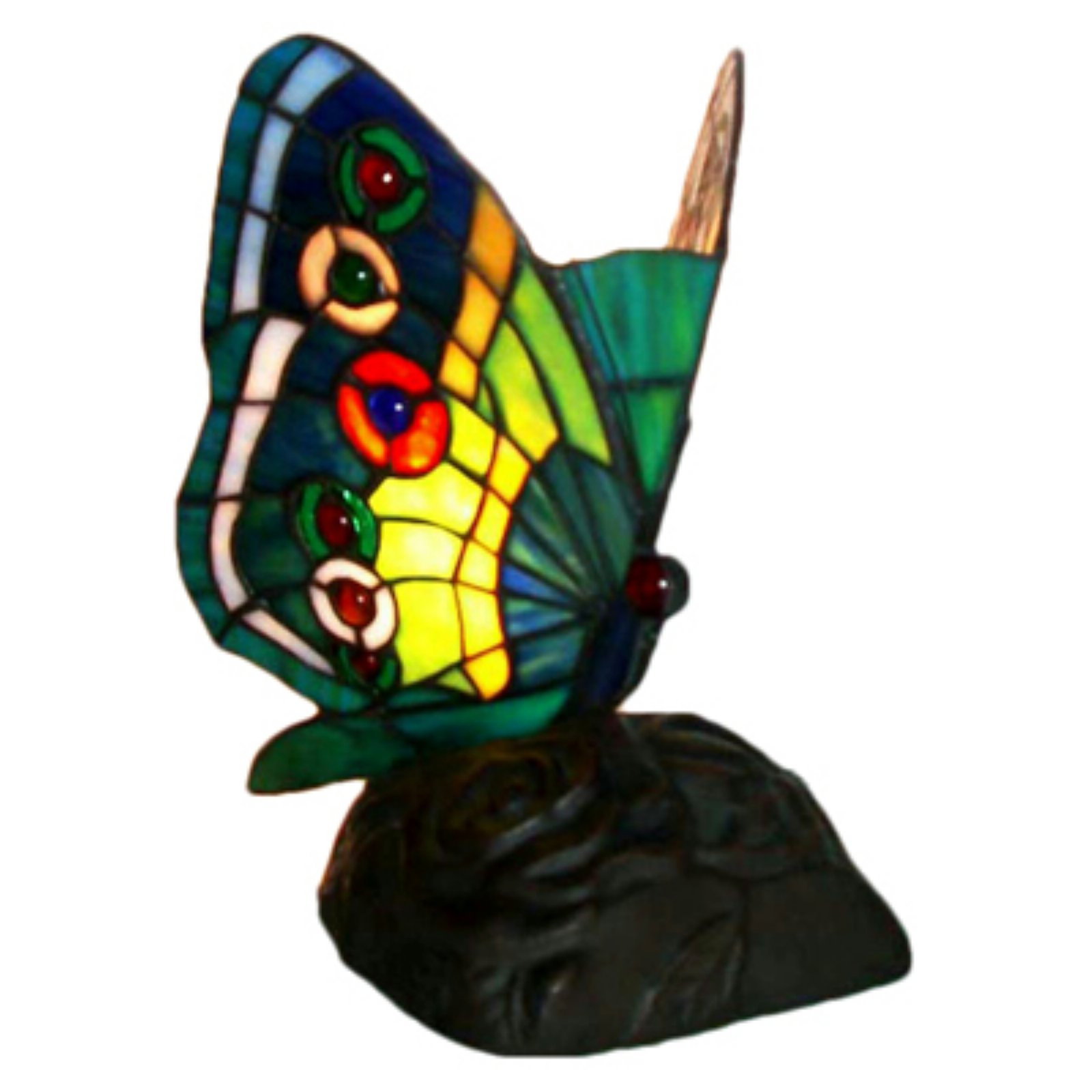 Tiffany-style Butterfly Table Lamp