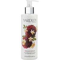YARDLEY ENGLISH DAHLIA BODY LOTION 8.4 OZ BY Yardley