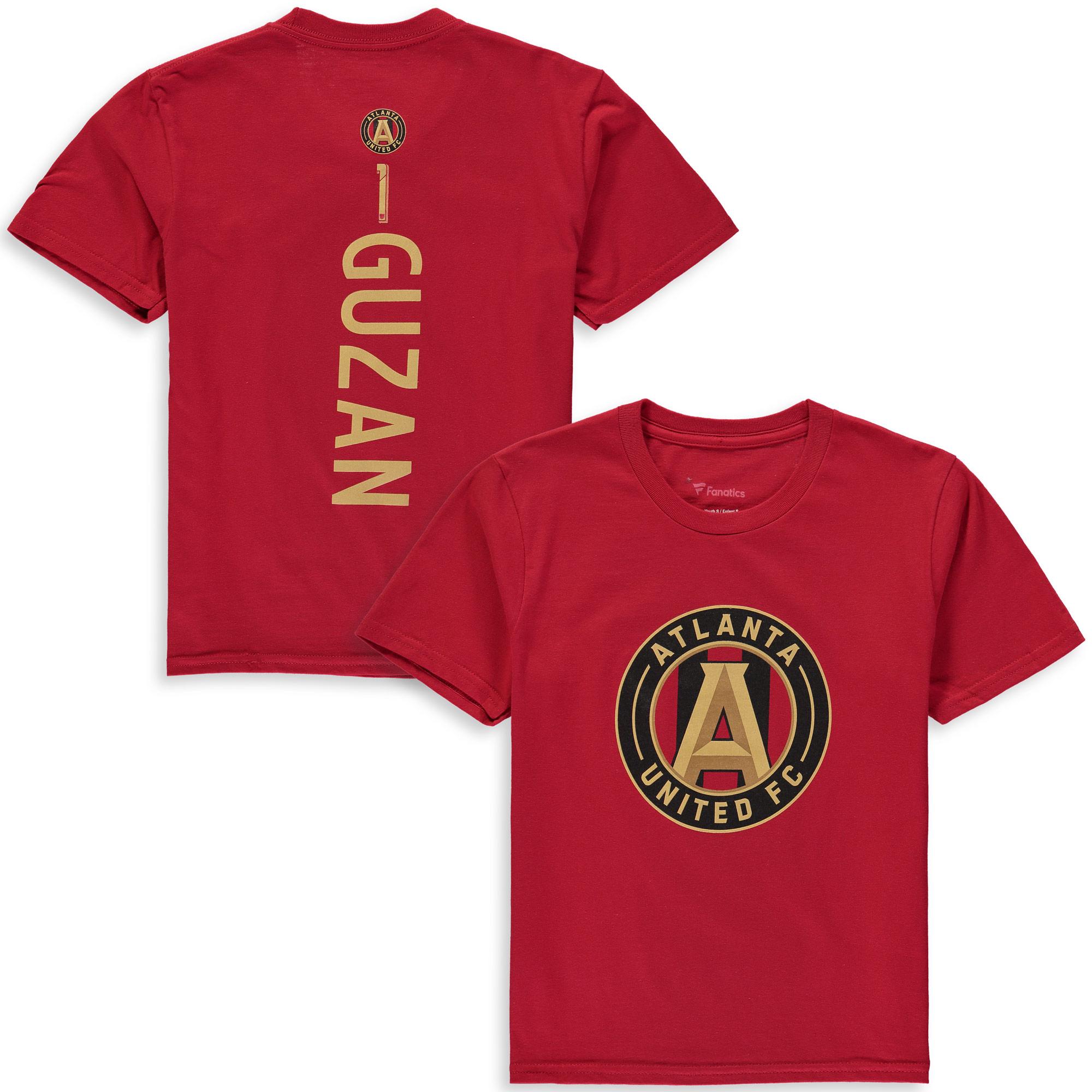 Brad Guzan Atlanta United FC Fanatics Branded Youth MLS Backer T-Shirt - Red
