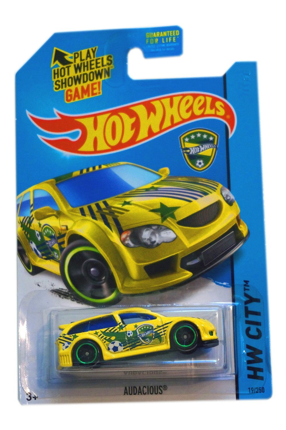 2014 Hot Wheels Hw City World Cup Soccer Brazil Audacious By Mattel by
