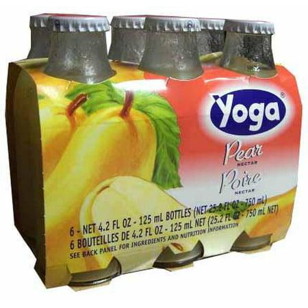 Vineyards Nectar - Pear Nectar (Yoga) CASE (6 x 4.2 oz) (6 Pack) Bottles