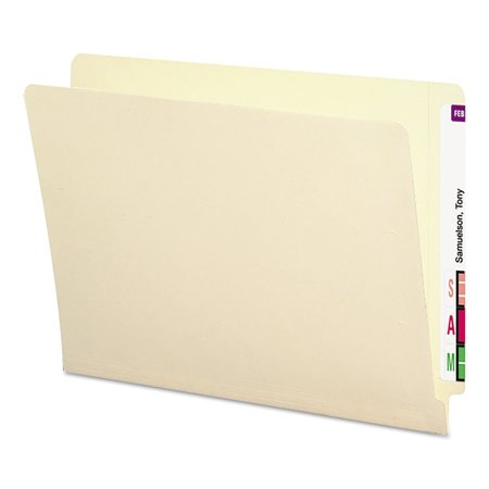 SMD24113 - 24113 Manila End Tab File Folders with Antimicrobial Product Protection and Reinforced Tab, Manufacturer: Smead By Smead