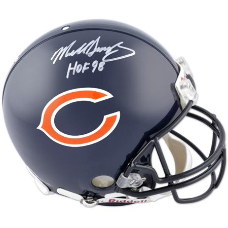 Mike Singletary Chicago Bears Autographed Pro Line Helmet with HOF 98 Inscription - Fanatics Authentic Certified Authentic Pro Line Revolution Helmet